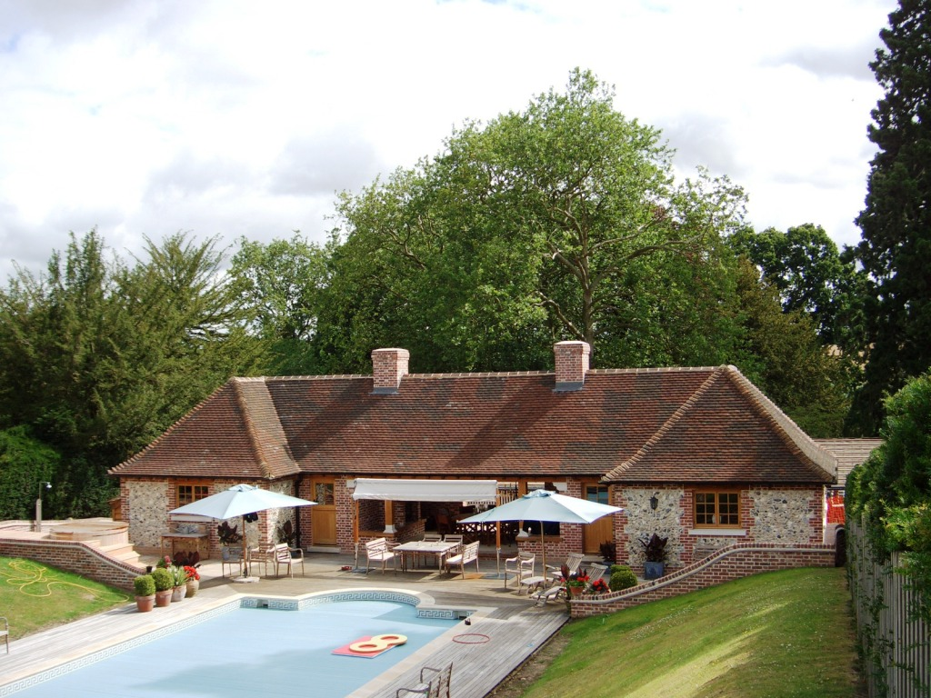 Manuden house bishop 39 s stortford ian abrams architect - Swimming pools in bishops stortford ...