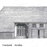Planning elevation drawing