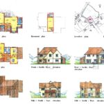 Proposed newdwelling - planning drawings