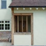 New oak Porch