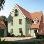 Artist impression of the new house - plot 1.