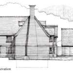 Maple Ave-Side Elevation