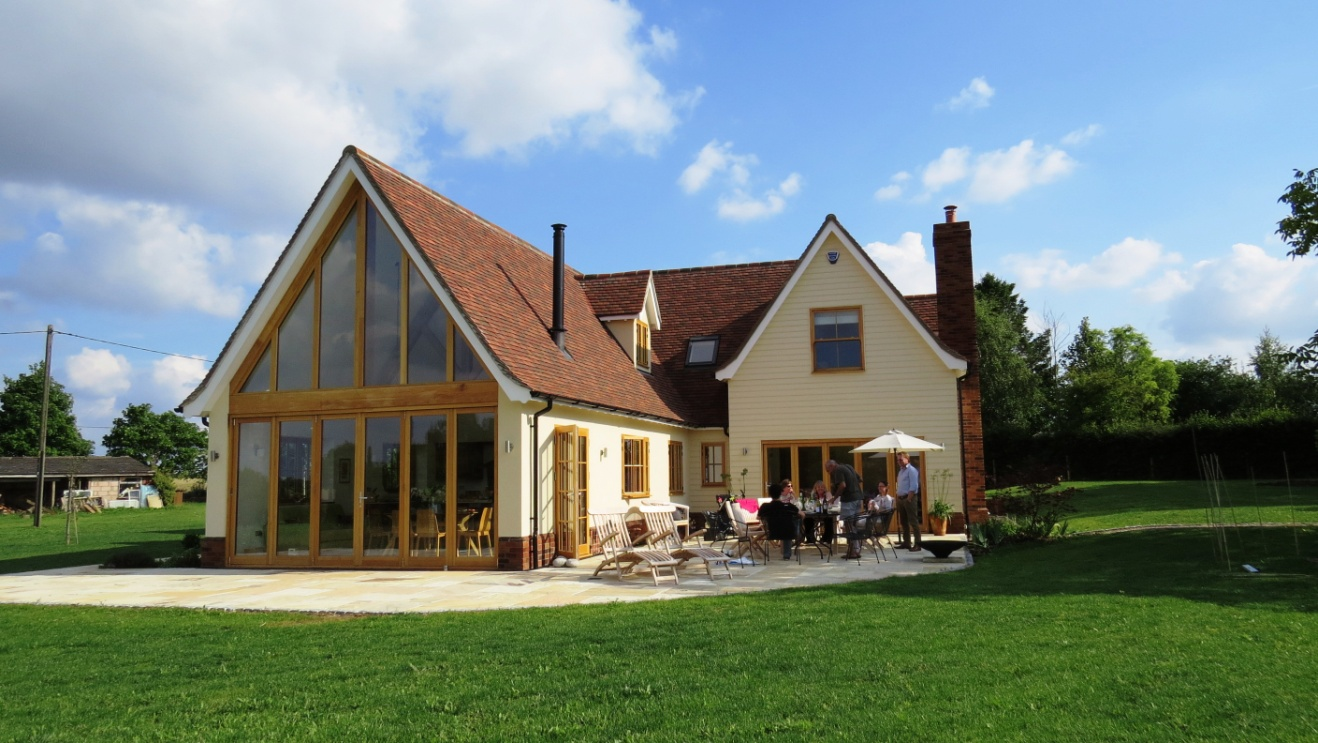 New house little hadham ian abrams architect for New way of building houses